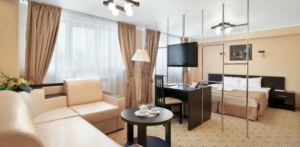 Романтический отдых для двоих ввыходные дни вконгресс-отеле «Амакс»