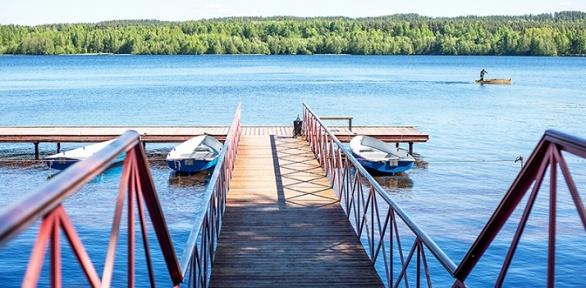 Отдых вкоттедже ссауной набазе отдыха «Аврора Нахимовское озеро»