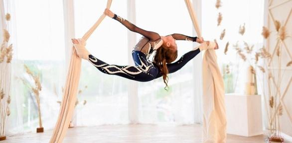 4 или 8 занятий в студии воздушной акробатики DragonFly