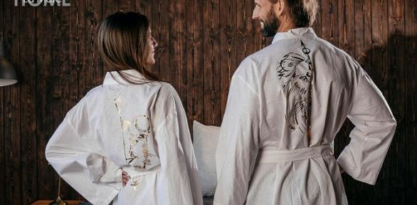Халат, пижама, худи или футболка