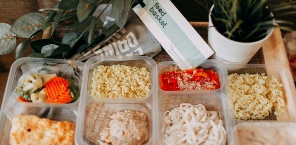 Готовый набор правильного питания откомпании FoodBasket