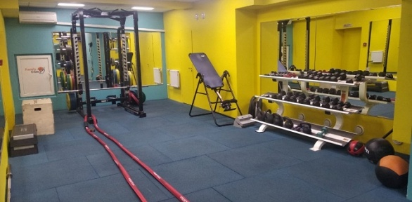 Безлимитное посещение тренажерного зала в «БОК на Дубнинской»