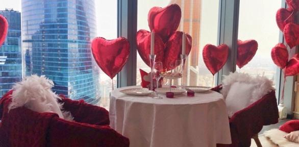 Проведение романтического свидания в«Москва-Сити»