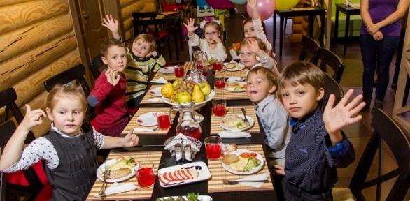 Проведение детского праздника всемейном кафе Family Pizza