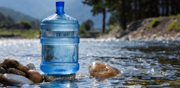 Доставка 5бутылей питьевой воды навыбор смеханической помпой или без