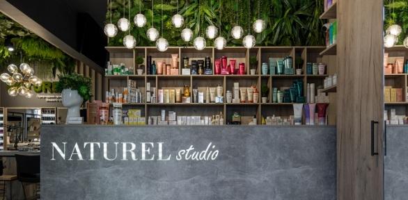Стрижка, окрашивание, ботокс для волос всалоне Naturel Studio