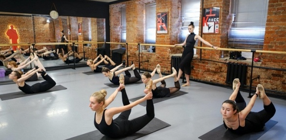 Занятия танцами вбалетной студии «Маяковский»