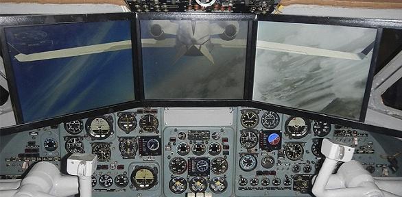 Полет натренажере вкабине самолета для двоих отклуба «Авиатор»