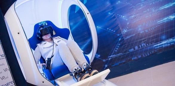 Посещение капсулы виртуальной телепортации впарке «Телепортация»
