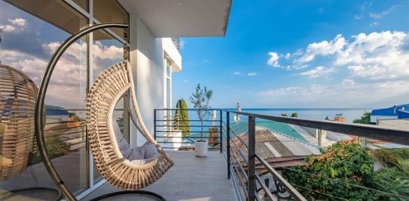 Отдых вЯлте рядом спляжем вбутик-отеле Seven
