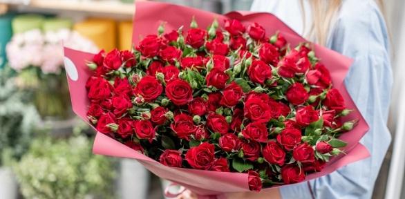 Сборные букеты или розы вкоробках
