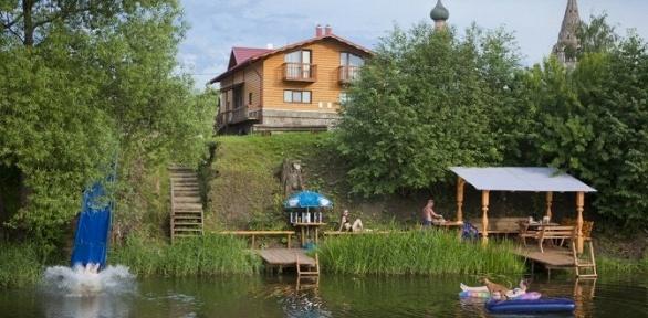 Отдых в Суздале на берегу Каменки в мини-отеле «44»