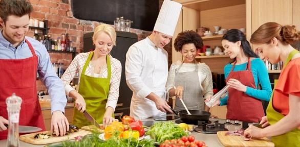 Кулинарный мастер-класс навыбор вкулинарной студии MyCook Jedani