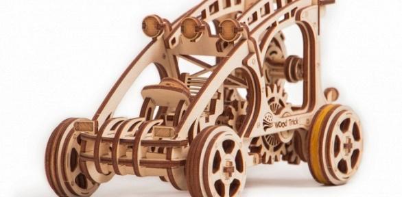 Механический 3D-пазл издерева Wood Trick