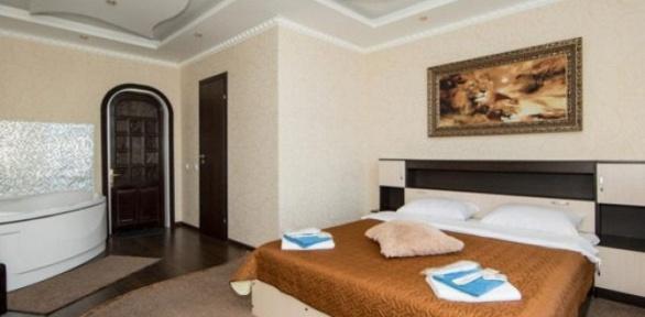 Проживание для двоих вномере категории навыбор всети отелей «Ладомир»