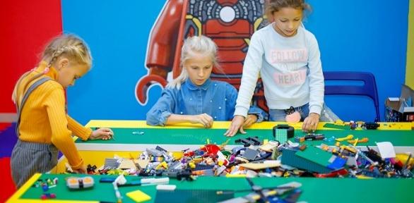 Мастер-класс либо посещение комнаты «Лего-город» вцентре «ЛегоДром»