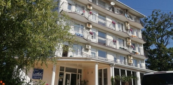 Отдых наберегу Черного моря вотеле Afrodita Hotel