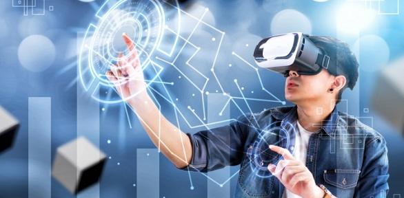 Игра вклубе виртуальной реальности Cyberaction Arena