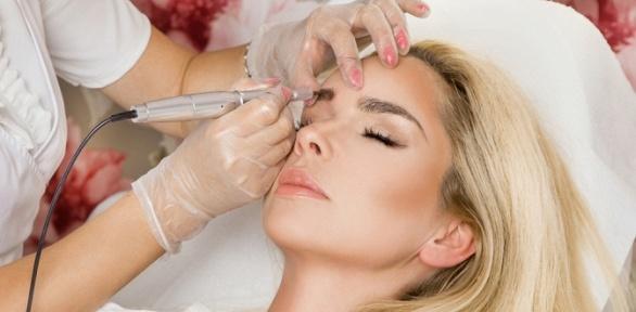 Перманентный макияж бровей, век или губ всалоне M.Lab
