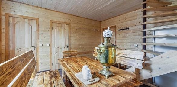 Отдых спосещением бани вгостевом доме «НаВаршавке»