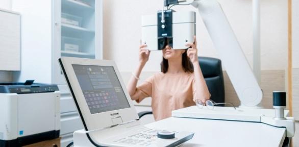Диагностика глаз вофтальмологическом центре «Кузляр»