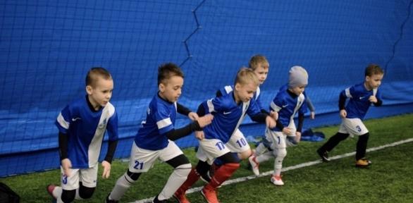 Занятия футболом вклубе «Крылья мечты»