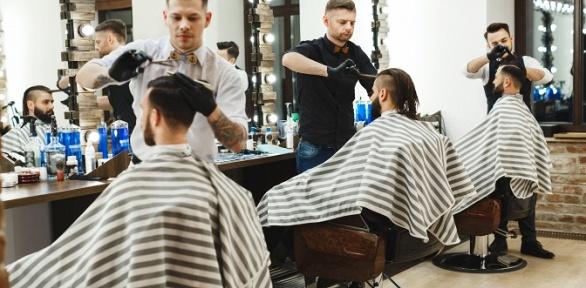 Мужская стрижка имоделирование бороды вBarbershop Jagger