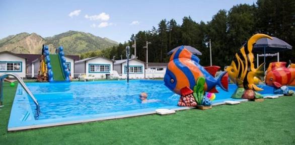 Отдых вГорном Алтае спосещением бассейна набазе отдыха «Усадьба Прованс»