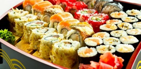 Суши-сеты всуши-баре «Кано» за полцены