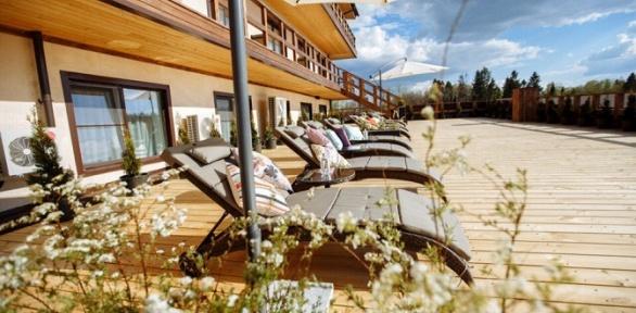 Отдых спитанием, посещением бассейна или SPA-тур впарк-отеле «Пересвет»