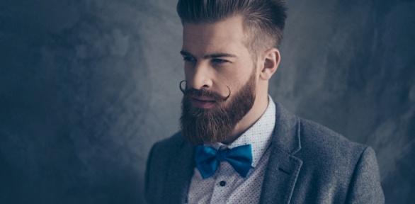 Стрижка, моделирование икоррекция бороды вбарбершопе White Beard