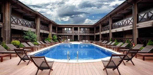 Отдых вАнапе с3-разовым питанием, посещением бассейна вотеле«Журавли»