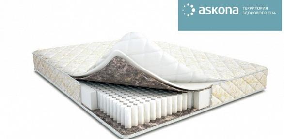 Ортопедический матрас или ортопедическая подушка Askona