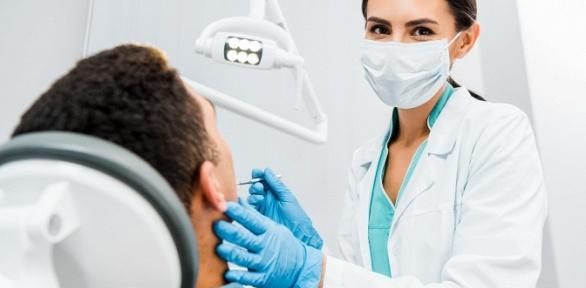 УЗ-чистка зубов встоматологии «Томэс»