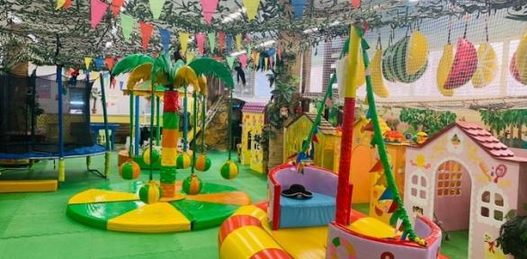 """Посещение детской игровой площадки «Территория детства """"Джунгли""""»"""