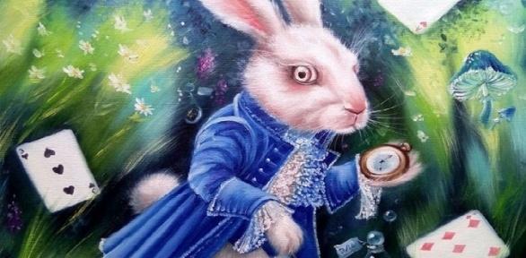 Квест «Следуй забелым кроликом» отстудии «Рафинад»