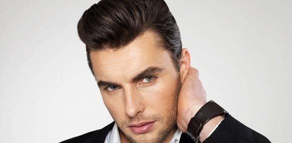 Мужская стрижка или моделирование бороды всалоне красоты Arkari