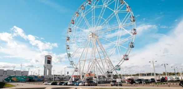 Билет наколесо обозрения вМоскве Music Wheel