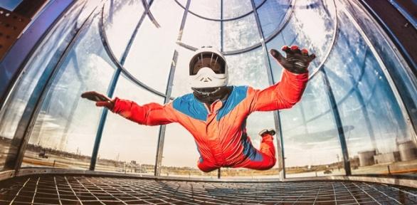 4минуты полета ваэродинамической трубе Like Fly вэкстрим-парке «ШиШки»