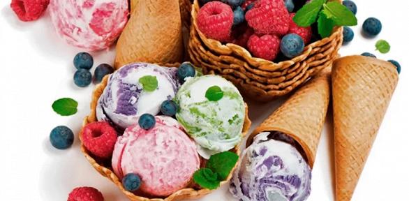 Всё меню необычного мороженого отStudiofood