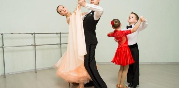 Занятия бальными танцами или растяжкой вклубе Vivat Step