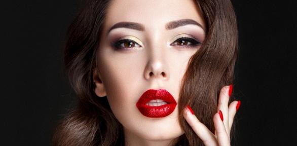 Перманентный макияж бровей, век или губ вцентре «МедОлимп»
