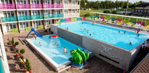 Отдых вАнапе вмае спитанием вотеле Sea Breeze Resort