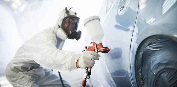 Покраска деталей автомобиля вавтосервисе «Коптево Авто»