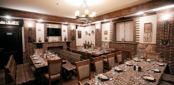 Ужин для компании до8человек впивном баре Ludisbary