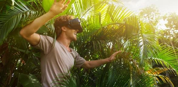 Аренда очков виртуальной реальности сдоставкой оттайм-кафе «Пещера»