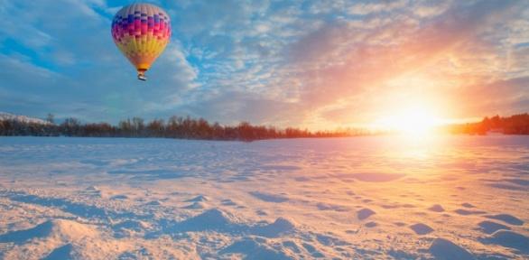 Полет навоздушном шаре отклуба «Воздухоплавателей»