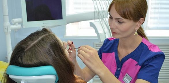 УЗ-чистка, отбеливание зубов вклинике «Жемчужина»