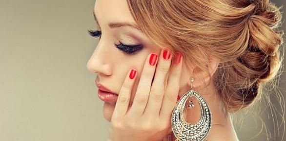 Маникюр ипедикюр спокрытием гель-лаком встудии красоты «Леди»