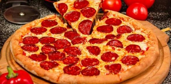 Доставка сета, пиццы от доставки «Радуга вкуса» за полцены